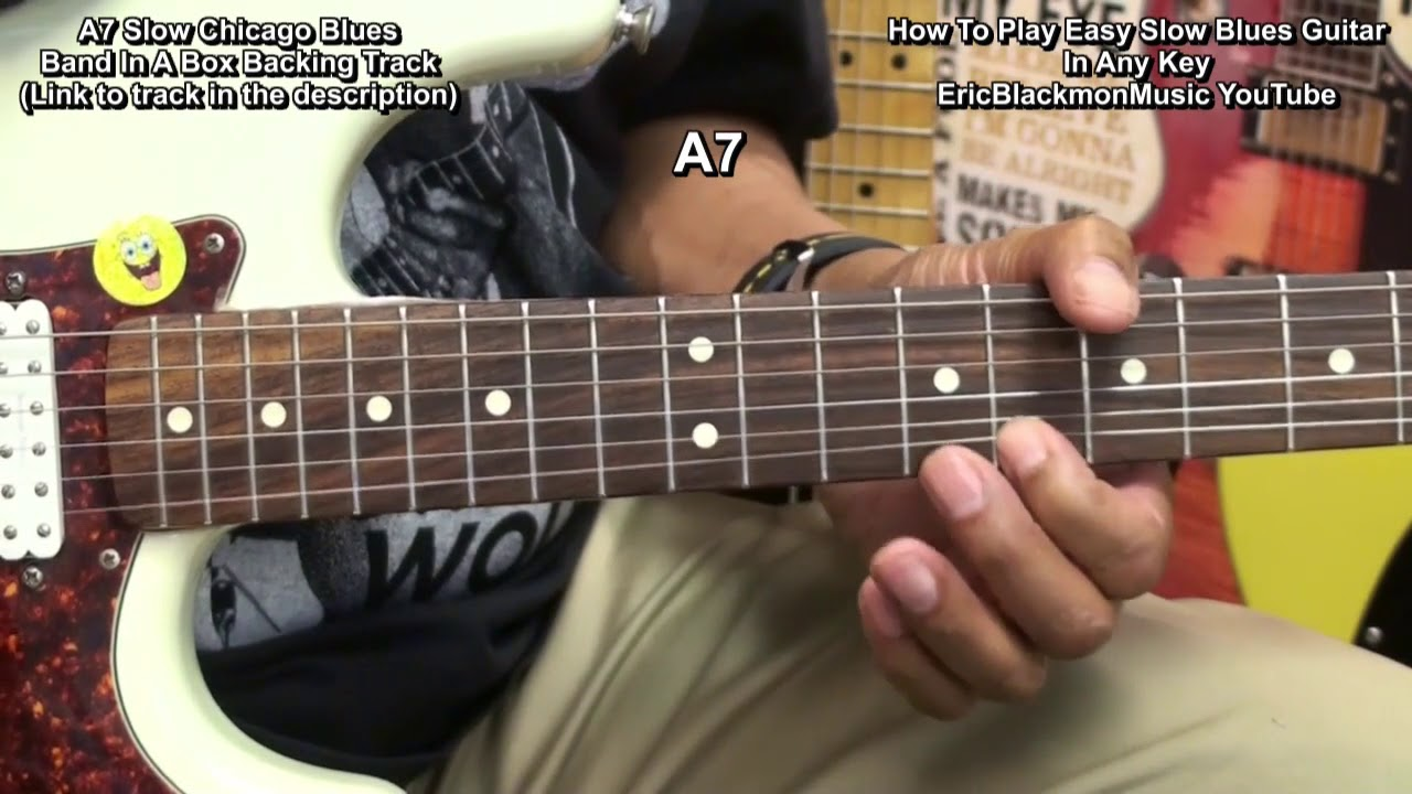 How To Play Blues Guitar : how to play easy slow blues chords riffs on guitar in any key ericblackmonguitar youtube ~ Hamham.info Haus und Dekorationen