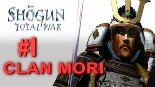 Steam version of Shogun Total War Gold Edition playing as Clan Mori...