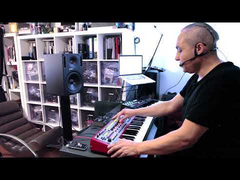 Anthony Rother - Me Myself Into The Future - Nord Modular - 3L3C7RO COMMANDO (Studio Session) mp3