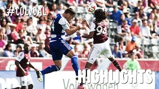 HIGHLIGHTS: Colorado Rapids vs. FC Dallas | October 18, 2014