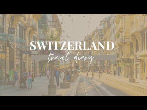 Switzerland Travel Diary 2016│Laine Dubin