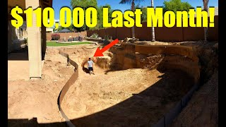 8 Figure Dream Lifestyle: $110,000 in August + Our New Pool!!