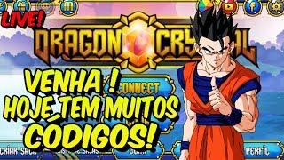 DRAGON CRYSTAL, HOJE VAI TER CÓDIGOS DE TODAS AS CORES E TAMBÉM DA ROLETA !!!
