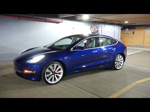 Test driving a Tesla Model 3 for a week, December 2018 build