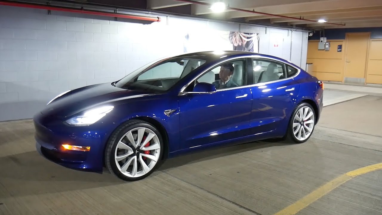 Test Driving A Tesla Model 3 For Week December 2018 Build