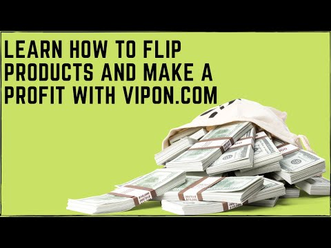 Learn How You Can Use Amazon Coupon Sites Like Vipon To Find Products To Sell Online And Make Money