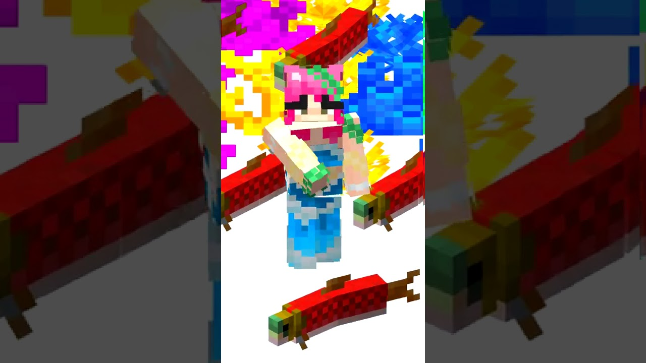 Minecraft Salmon FACTS
