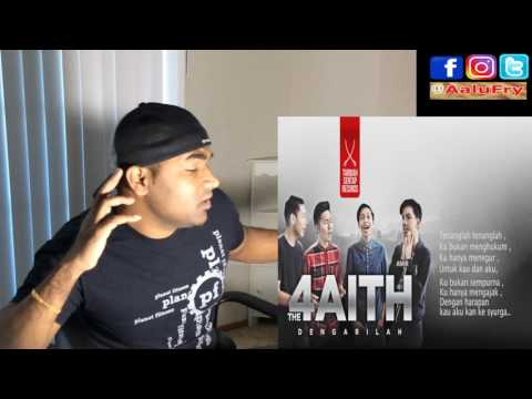 The Faith - Dengarilah (Despacito Malay Cover) |Live No Edit Reaction | Aalu Fries