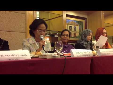 Covering the Grassroots - Mindanao Women in the Peace Process