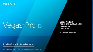 Sony Vegas Pro 13 + Crack How To Get Sony Vegas Pro 13 For FREE BOYS! 2016 (FREE, EASY & FAST TUTOR