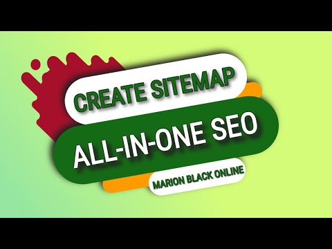 sitemap using all in one seo plugin quick and easy youtube