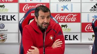 Diego Martínez. Previa Nàstic-Osasuna | 04.05.18