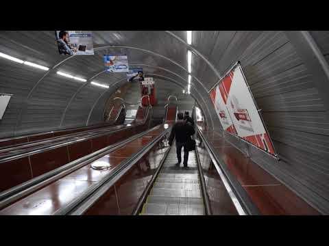 Армения, метро в Ереване и поезд, 2018 год