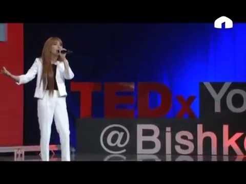 """""""TEDx Youth@Bishkek"""".""""Как обуздать родителей"""". Диана Похилько"""