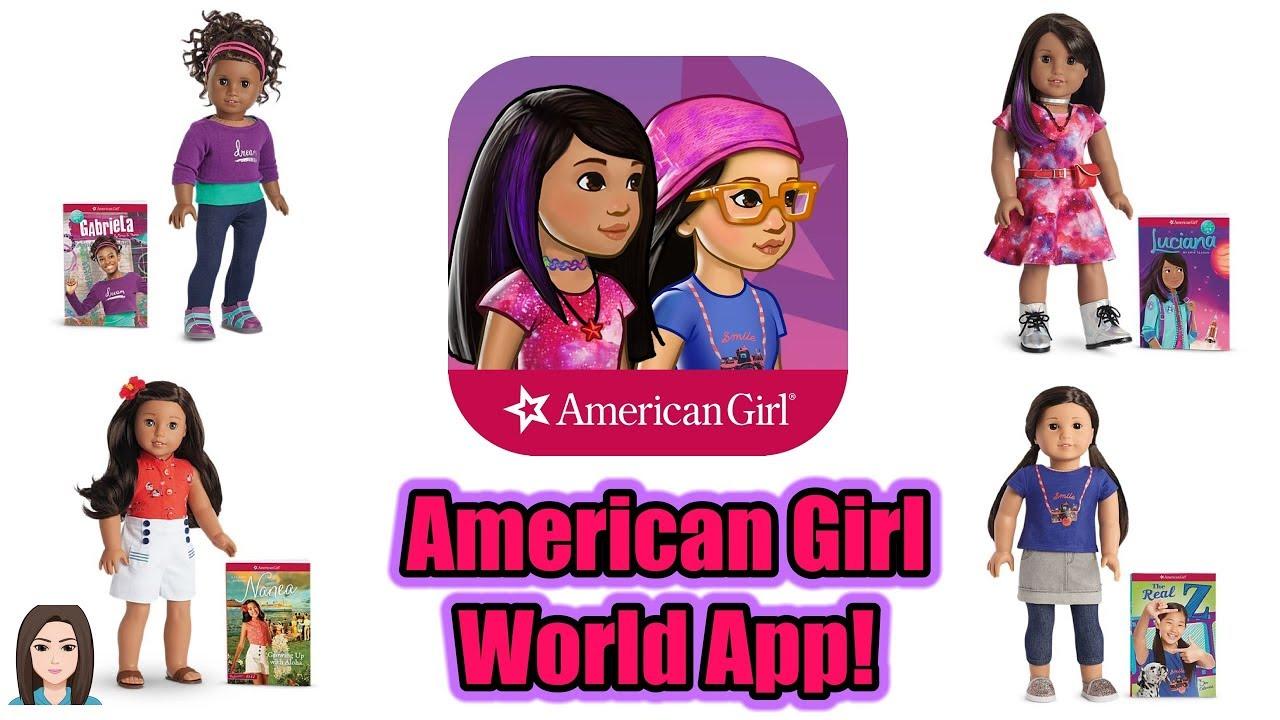 American Girl World : brand new app american girl world fun interactive story game kelli maple youtube ~ Russianpoet.info Haus und Dekorationen