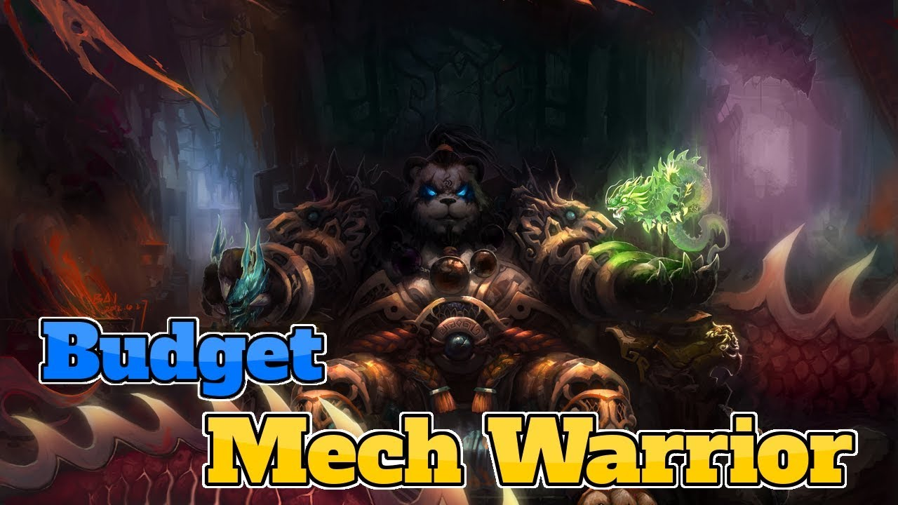 [Legend] Budget Mech Warrior The Boomsday Project | Hearthstone Guide How  To Play