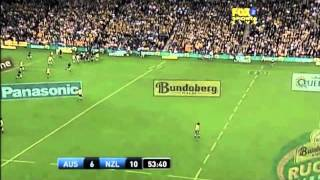 Richie McCaw Awesome Tackle & Turnover vs Wallabies 2006