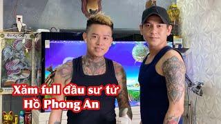 Hồ Phong An ( Phi Hổ ) Phim Song Long Tái Xuất Chơi Lớn Lên Full Hình Sư Tử Tại Long Tâm Tatoo