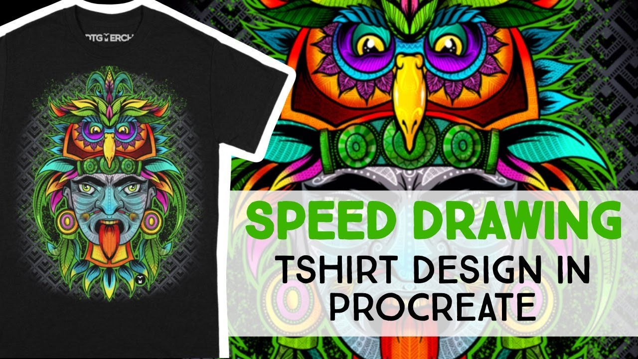 How To Create T Shirt Designs On The Ipad Procreate