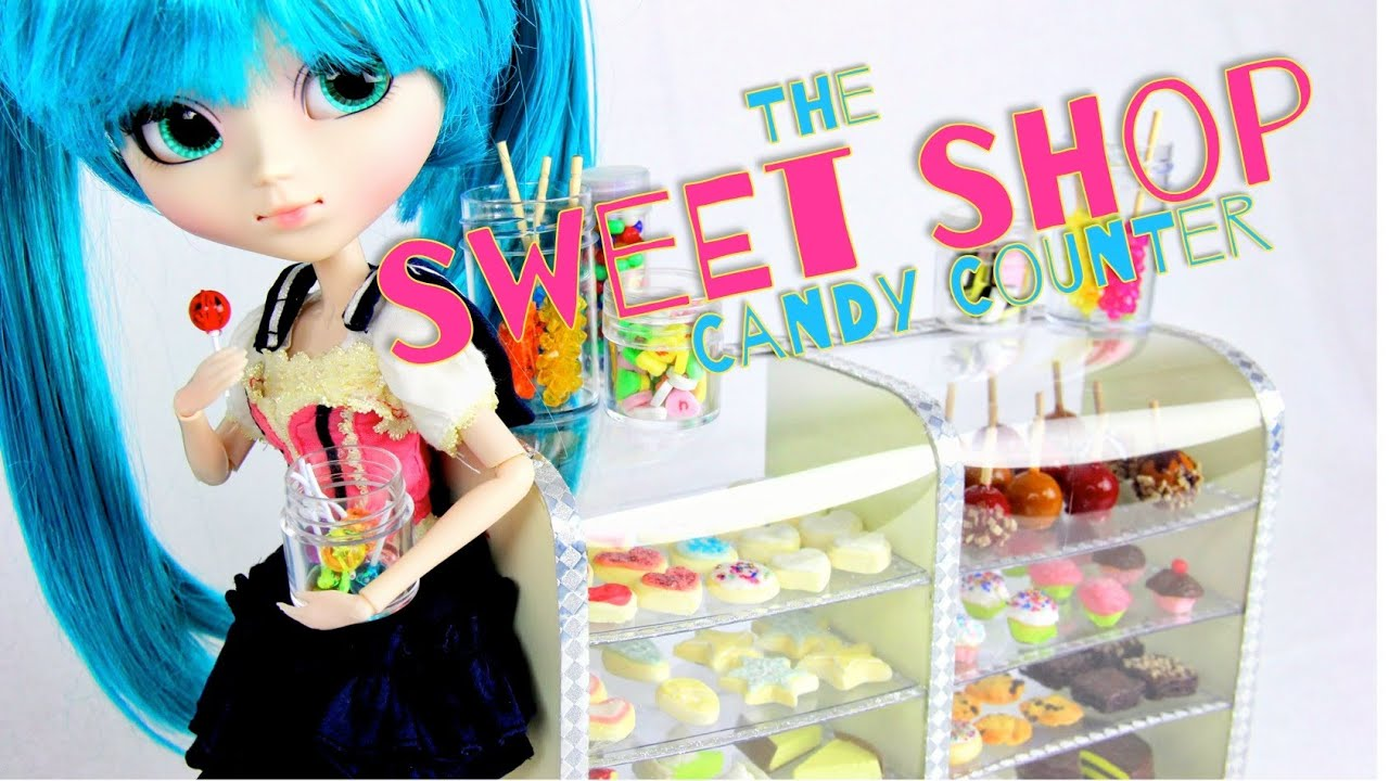 How To Make A Doll Sweet Shop Candy Counter Doll Crafts