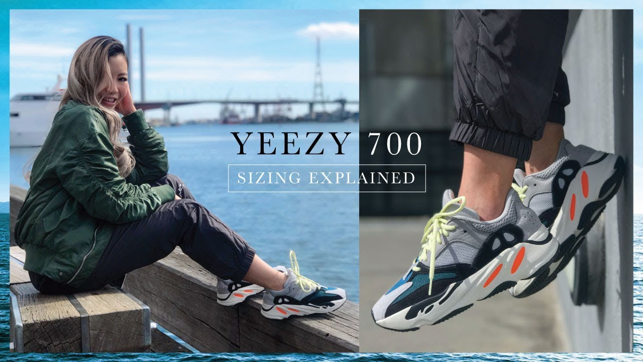 timeless design 58d77 5d6e5 YEEZY 700 Wave Runner Size Guide + Everything You Need To Know