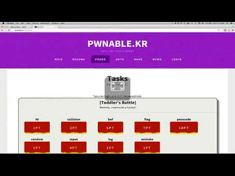 pwnable kr geohot