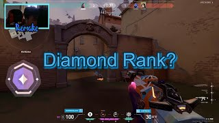 How I Got T๐ Diamond In Placements | Valorant | Remak3e