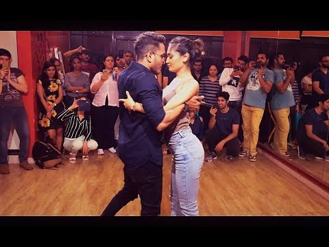 Cornel & Rithika | Bachata Sensual | Moves like Jagger- Maroon 5 | Bachata Remix