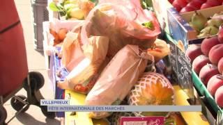 Villepreux : la commune participait à la fête des marchés