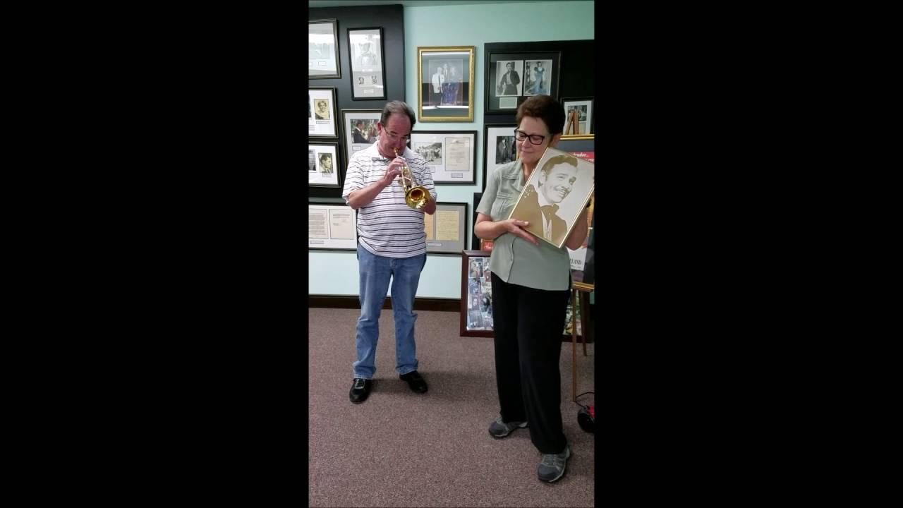 Cheryl Morris & Chuck Par-Due @ The Clark Gable Foundation Cadiz, Ohio
