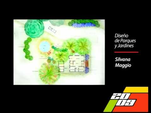 2009 dise o de parques y jardines youtube for Diseno de jardin