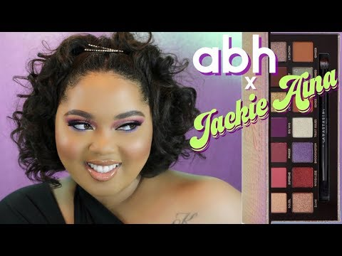 ABH x Jackie Aina Palette Review + Tutorial