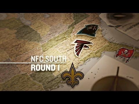 2012 NFL Draft Grades Round 1: NFC South  Edition