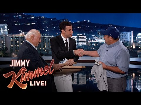 Jimmy Kimmel Surprises Hero Who Saved Man From Burning Building