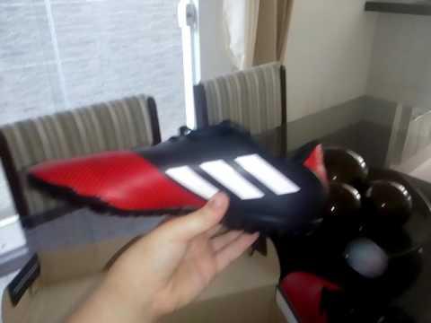 f779a118ec Chuteira Adidas artilheira 2 TF. Chuteira showwwwwwww mano - YouTube
