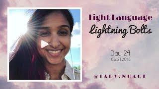 Light Language - Lady Nuage - Lightning Bolt #24