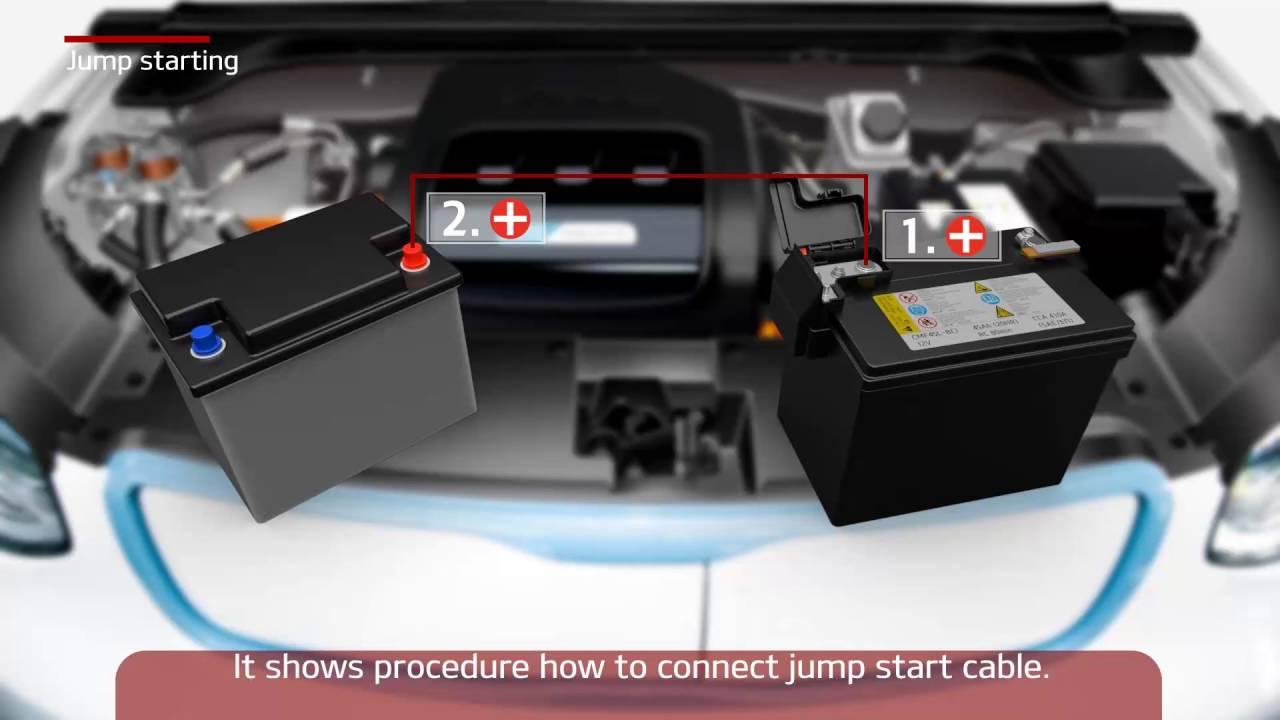 Kia Optima: Jump Starting Procedure