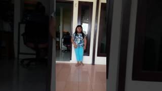 Lagu lukisan indonesia naura😍
