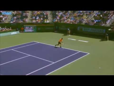Philipp Kohlschreiber Indian Wells 2015 Hot Shot Reflex vs. Andy Murray