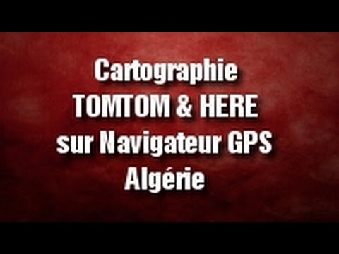mettre jour cartographie tomtom et here gps. Black Bedroom Furniture Sets. Home Design Ideas