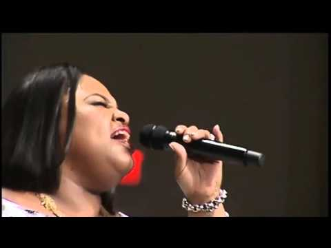 Tasha Cobbs ministers at First Baptist Church of Glenarden 2