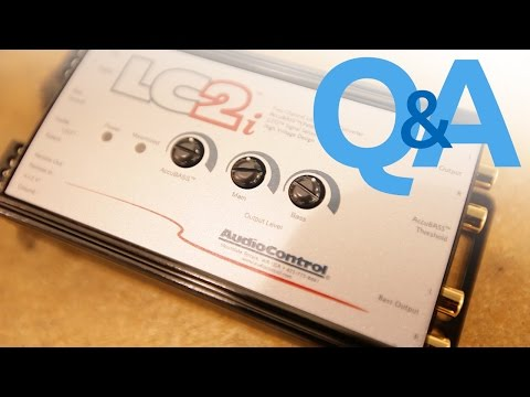 What Is A Line Output Converter?   When to use an LOC   Car Audio Q&A