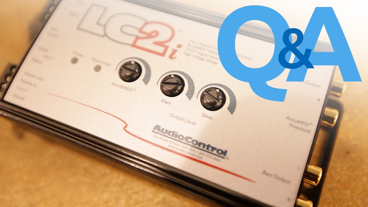 What Is A Line Output Converter When To Use An Loc Car Audio Alpine Mrp F250 4 Channel Amp Wiring Diagram Qa