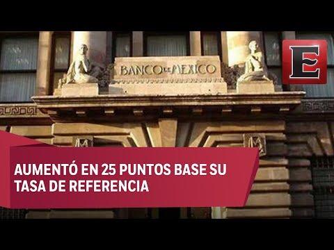 Banxico sube tasa de interés al 7%, la más alta desde 2009