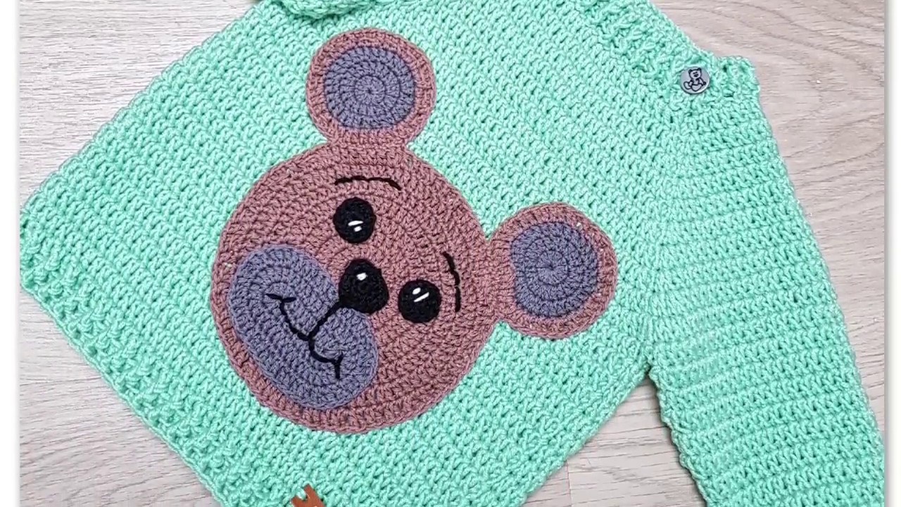 Teddy bear applique, free crochet pattern. #crochet | Handarbeten ... | 720x1280