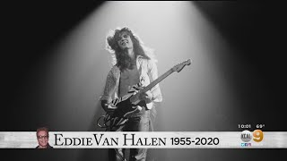 Fans Remember Rock Legend Eddie Van Halen In His Hometown