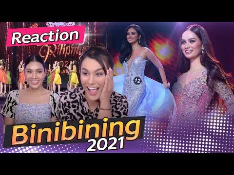 Reaction Binibining Philippines 2021   วาระนางงามแห่งชาติ Anna