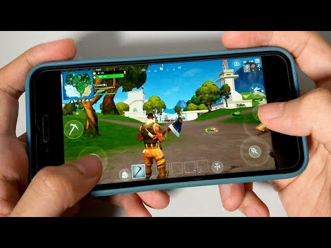 IPhone 7: Fortnite Mobile - Gaming Performance Test In 2019