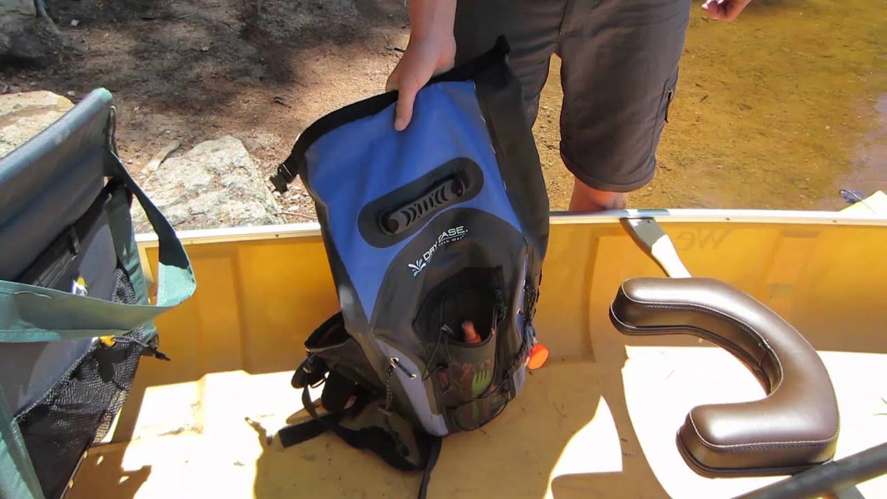 DryCase Masonboro Waterproof Backpack review - YouTube