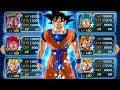 FULL GOKU TRANSFORMATION TEAM! Full Goku Evolution Team! (DBZ: Dokkan Battle)